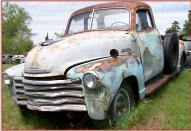 1949 Chevrolet Series 3600 3/4 ton 125'' Pickup Truck left front view
