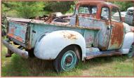 1949 Chevrolet Series 3600 3/4 ton 125'' Pickup Truck right rear view