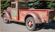 1949 Diamond T Model 201 One Ton Pickup Truck For Sale $27,000 left rear view