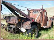 1944 Dodge Model WFA 36 SWB 1 1/2 ton 14,000 GVW wrecker tow truck right rear view
