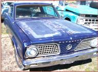1966 Plymouth Barracuda 2 Door Hardtop For Sale right front view