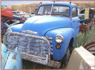 1950 Chevrolet Series 6400 2 Ton Flatbed Truck For Sale left front view