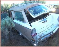 1957 Studebaker Commander Provincial 4 Door Station Wagon For Sale left rear view