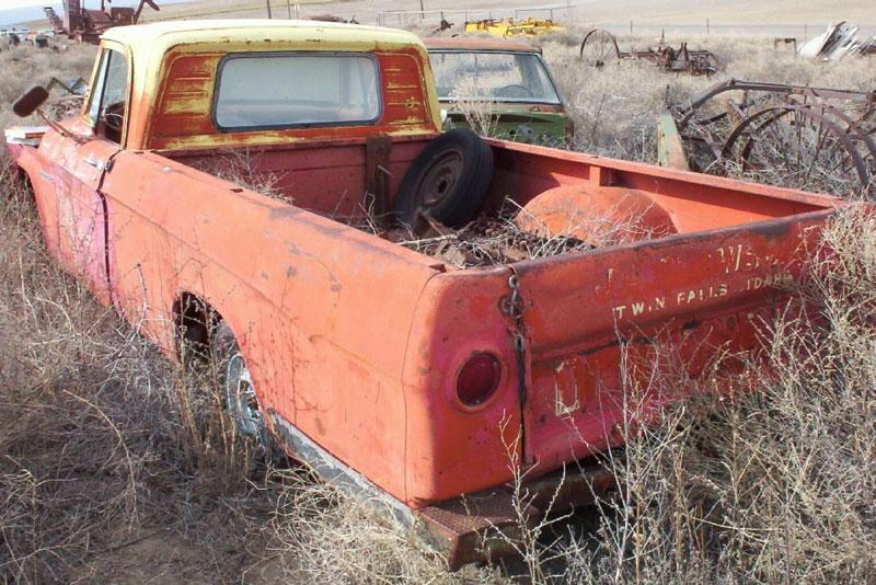 1963 Dodge D100 Sweptline 1 2 Ton Pickup Truck For Sale