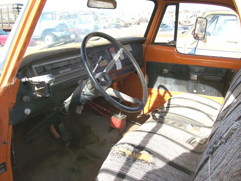 1971 Dodge D200 3 4 Ton 4x2 Utility Box Truck For Sale