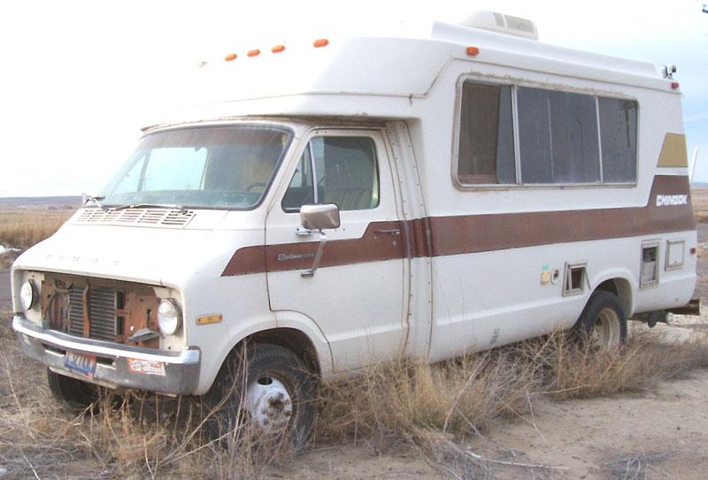 1976 Dodge Chinook Sportsman RV For Sale