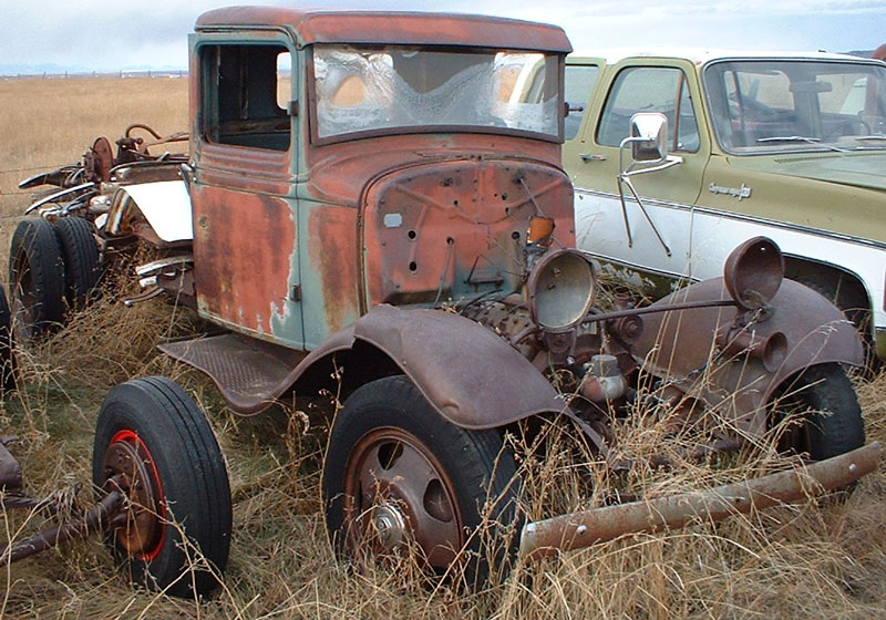 1934 Ford Model Bb 1 To 1 1 2 Ton Truck No Bed For Sale
