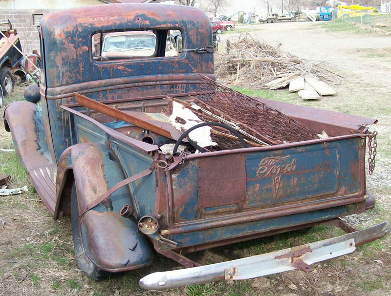 1937 Ford Model 73 Model 820 1/2 Ton Pickup Truck #2 For Sale