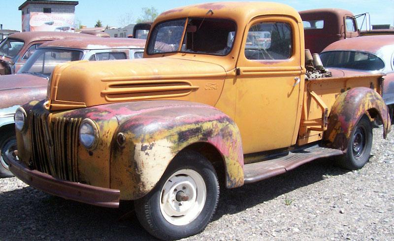 1946 ford model 83 1 2 ton pickup truck for sale. Black Bedroom Furniture Sets. Home Design Ideas