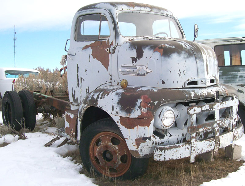 1952 Ford F-6 COE Cab-Over-Engine Semi Tractor For Sale