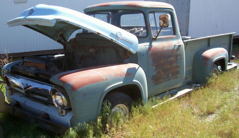 56 ford truck for sale autos post. Black Bedroom Furniture Sets. Home Design Ideas