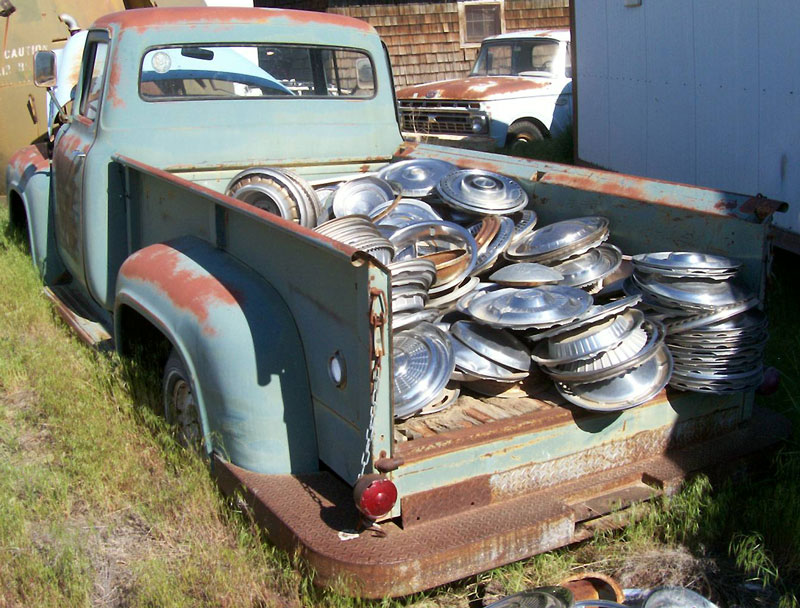 1956 Ford F-100 Custom Cab Long Box 1/2 Ton Pickup For Sale