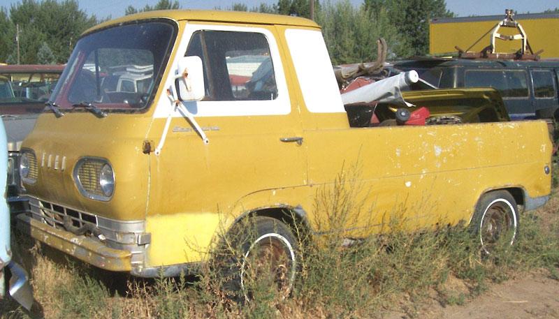 1963 ford econoline model e103 1 2 ton pickup truck for sale. Black Bedroom Furniture Sets. Home Design Ideas