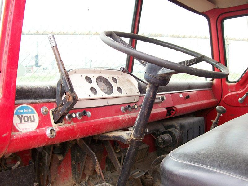 1965 ford model c 600 coe cab over engine tilt cab bulk fuels 5 window truck for sale