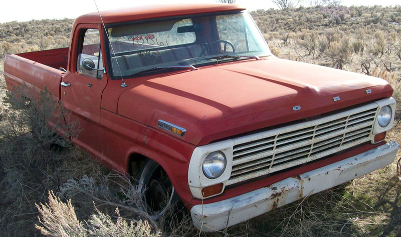 1969 ford f 100 styleside 1 2 ton pickup truck for sale. Black Bedroom Furniture Sets. Home Design Ideas