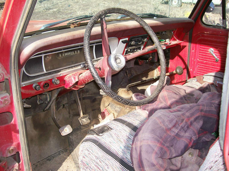 1969 Ford F 100 Styleside 1 2 Ton Pickup Truck For Sale
