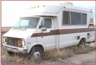 1976 Dodge Chinook Sportsman RV left front view