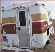 1976 Dodge Chinook Sportsman RV right rear view