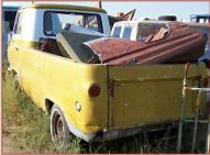 1963 Ford Econoline Model E103 1/2 Ton Pickup Truck For Sale left rear view