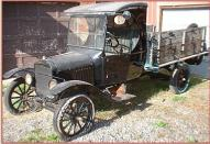 1927 Ford Model TT C-Cab Stake Grain Box Truck For Sale left front view