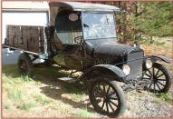 1927 Ford Model TT C-Cab Stake Grain Box Truck For Sale right front view