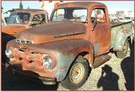 1951 Ford F-2 3/4 Ton V-8 Pickup Truck For Sale left front view