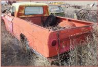 1963 Dodge D100 Sweptline 1/2 Ton Pickup Truck left rear view