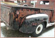 1949 Ford F-2 3/4 Ton Pickup Truck For Sale right rear view