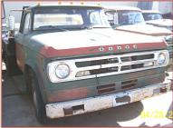 1971 Dodge D300 One Ton 4X2 Flatbed Truck For Sale $3,000 right front view
