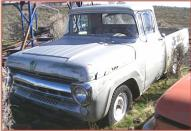 1957 Ford F-100 1/2 Ton Custom Cab Styleside Pickup Truck For Sale left front view