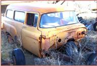 "1957 Dodge Series K6-D100 1/2 Ton 116"" Wheel Base Town Wagon For Sale $1,500 right front view"