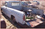 1965 Dodge D-200 3/4 Ton Sweptline Custom Cab Pickup Truck For Sale $3,000 left rear view