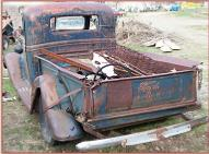 1937 Ford Model 73 Model 820 1/2 Ton Pickup Truck #2 For Sale $2,500 left rear view