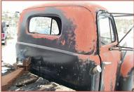 1950 Ford F-4 Series 9RTL One Ton Platform Flatbed Truck For Sale $4,500 right rear cab view