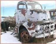 1952 Ford F-6 COE Cab-Over-Engine Semi Tractor For Sale $5,500 right front view