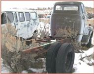 1952 Ford F-6 COE Cab-Over-Engine Semi Tractor For Sale $5,500 right rear view