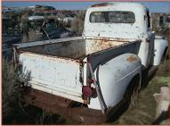 1952 Ford F-1 1/2 Ton Pickup Truck Grey For Sale right rear view