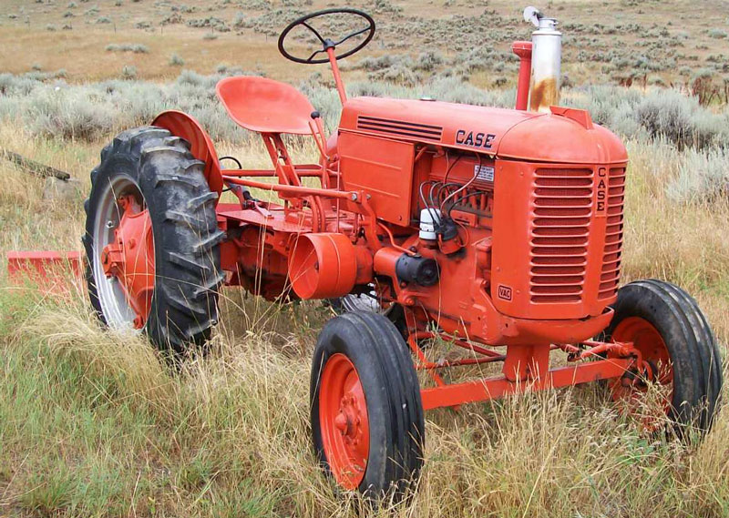 Case Vac Paint : Case vac wide front farm tractor with eagle hitch for