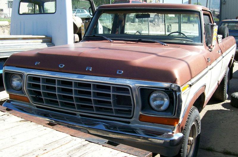 1978 ford f 150 custom styleside 4x4 pickup work truck for sale. Black Bedroom Furniture Sets. Home Design Ideas