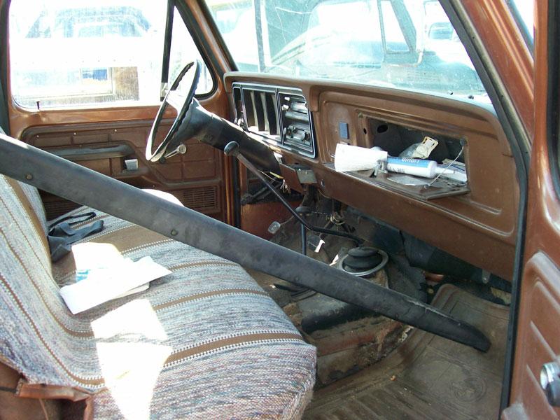 1978 Ford F 150 Custom Styleside 4x4 Pickup Work Truck For