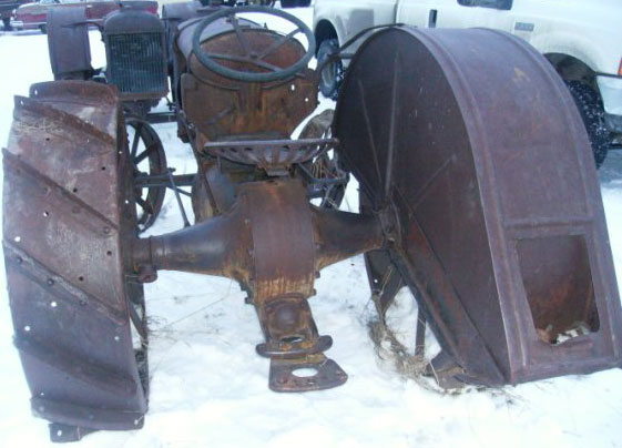 1920 28 Fordson Model F On Steel Farm Tractor For Sale