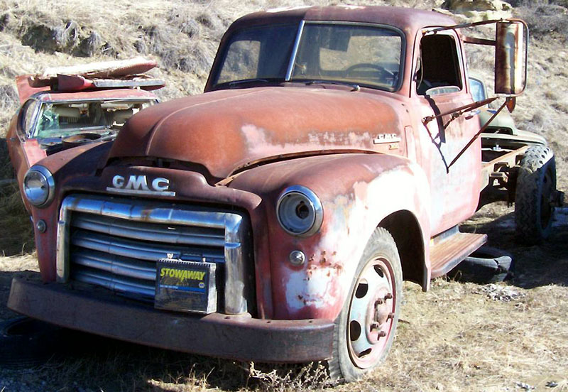 1949 Gmc Series 300 1 1 2 Ton Truck No Bed For Sale