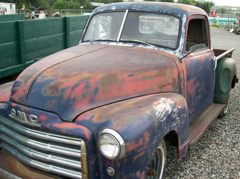 1950 GMC Series FC 101 1 2 Ton Pickup Truck For Sale Left Front