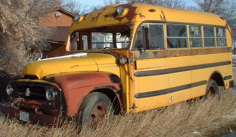 1955 Ihc International R 160 1 1 2 Ton 16 Passenger School