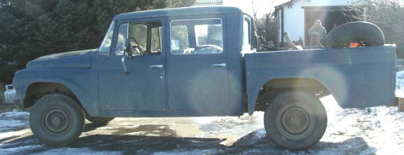 1965 ihc international d 1200 4x4 travelette 4 door crew cab short box pickup truck for sale. Black Bedroom Furniture Sets. Home Design Ideas