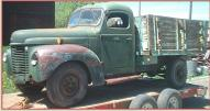1941 IHC International Model K Series K-3 One Ton Flatbed For Sale left front view
