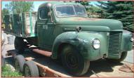 1941 IHC International Model K Series K-3 One Ton Flatbed For Sale right front view
