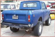 1974 IHC International Scout II 4X4 Pickup Snow Plow For Sale right rear view