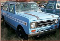1979 IHC International Scout II 4X4 Traveler Station Wagon For Sale right front view