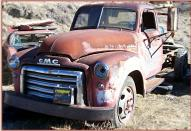 1949 GMC Series 300 1 1/2 Ton Truck No Bed For Sale left front view